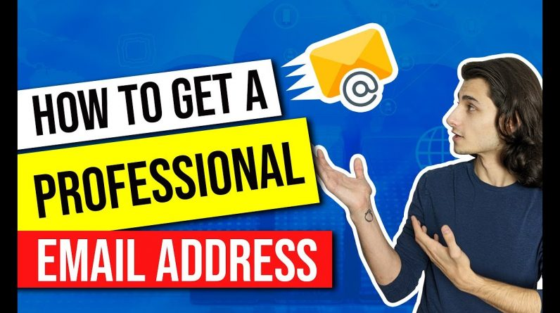 ✅ How to Get a Professional Email Address