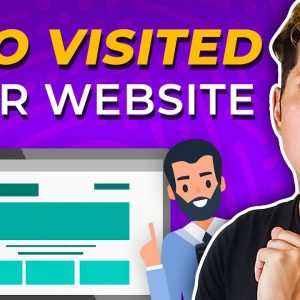 How To See Who Visited Your Website - Google Analytics WordPress Tutorial